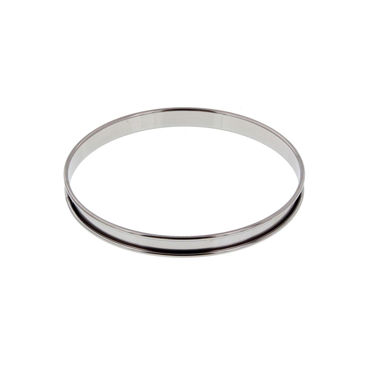Cercle à tarte inox 20 cm - De Buyer