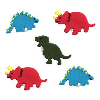 Décors en sucre dinosaures - Anniversary House