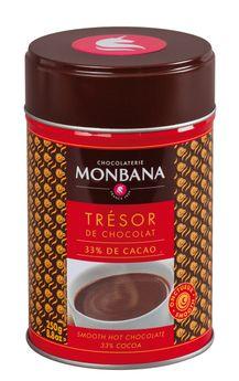 Boîte chocolat en poudre Trésor 250g - Monbana