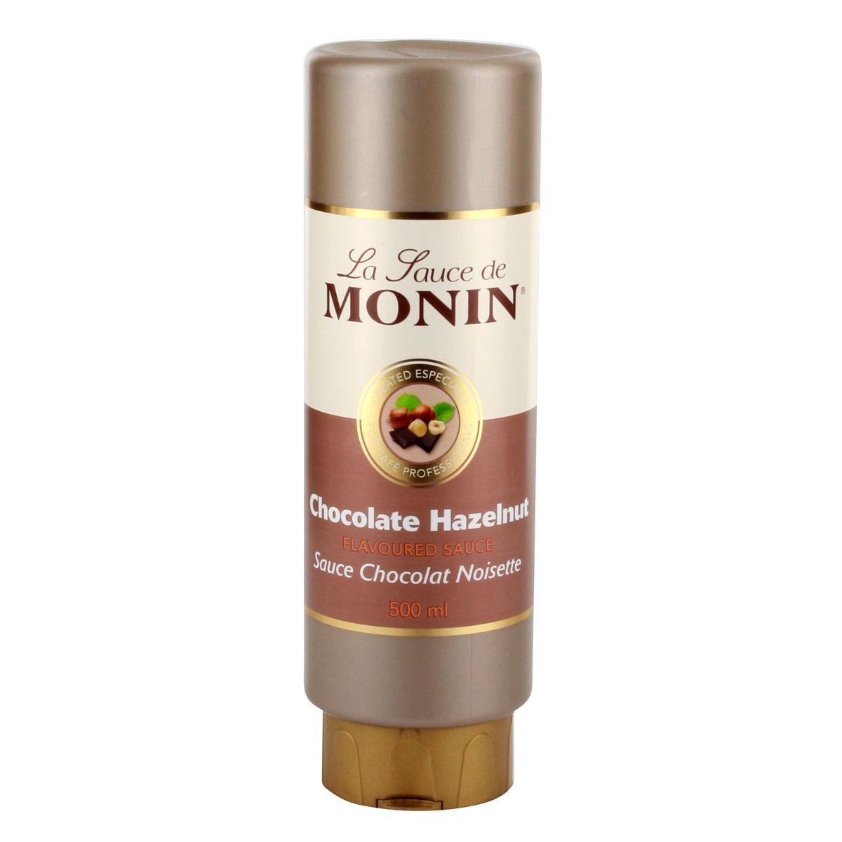 Sauce chocolat noisette 50cl - Monin