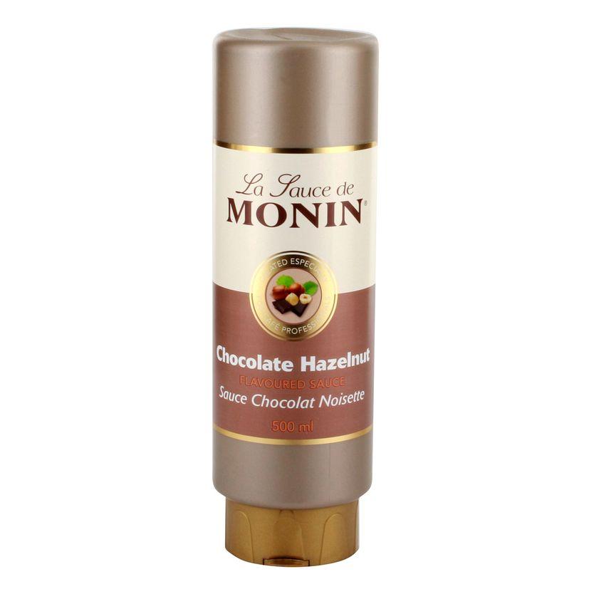 Sauce chocolat noisette 50 cl - Monin