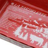 Plat à four tartiflette rouge 40cm - Table & Cook