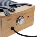 Raclette électrique finition bois pour 8 pers  - Kitchen Chef