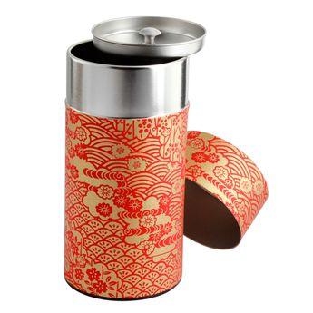 Boîte à thé 200g 7.5x15.5 cm Higanbana - Bastide Diffusion