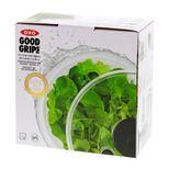 Essoreuse à salade transparente Push 21 cm - Oxo
