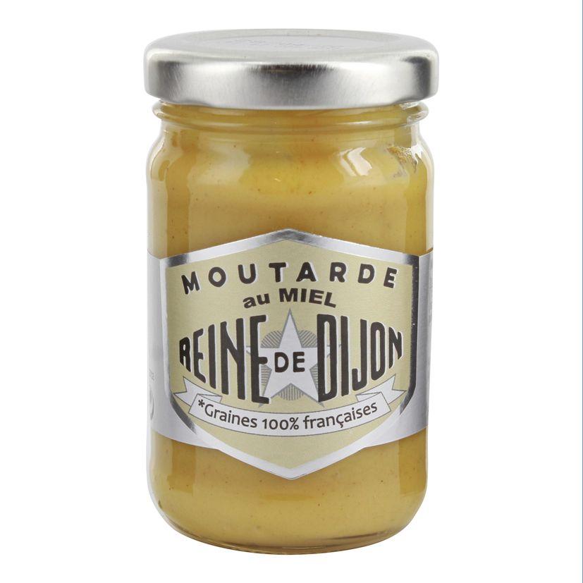Moutarde au miel 100gr - Reine de Dijon