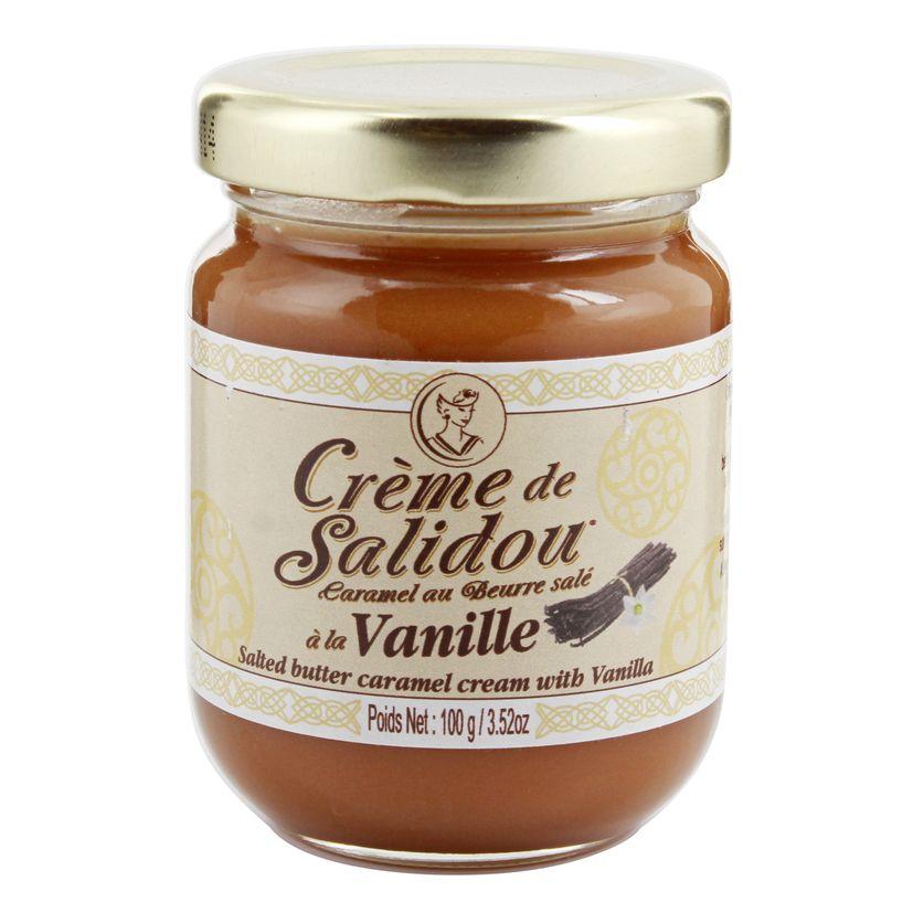 Crème de salidou vanille 100gr - La Maison d´Armorine