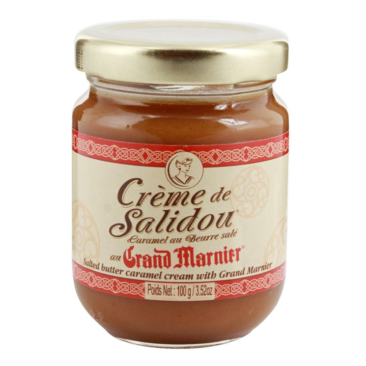 Crème de salidou au grand-marnier 100 gr - La Maison d´Armorine