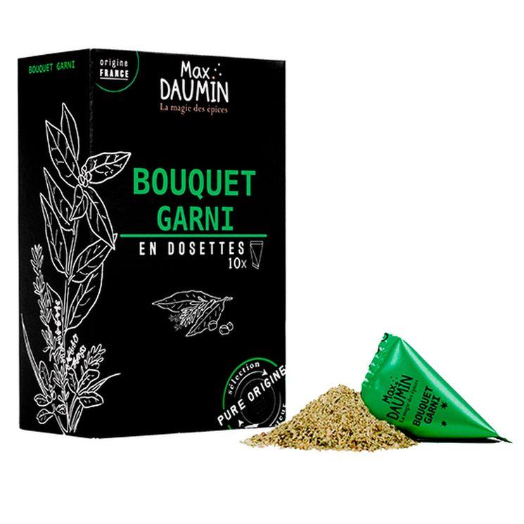 Boîte de 10 dosettes individuelles Bouquel garni - Max Daumin