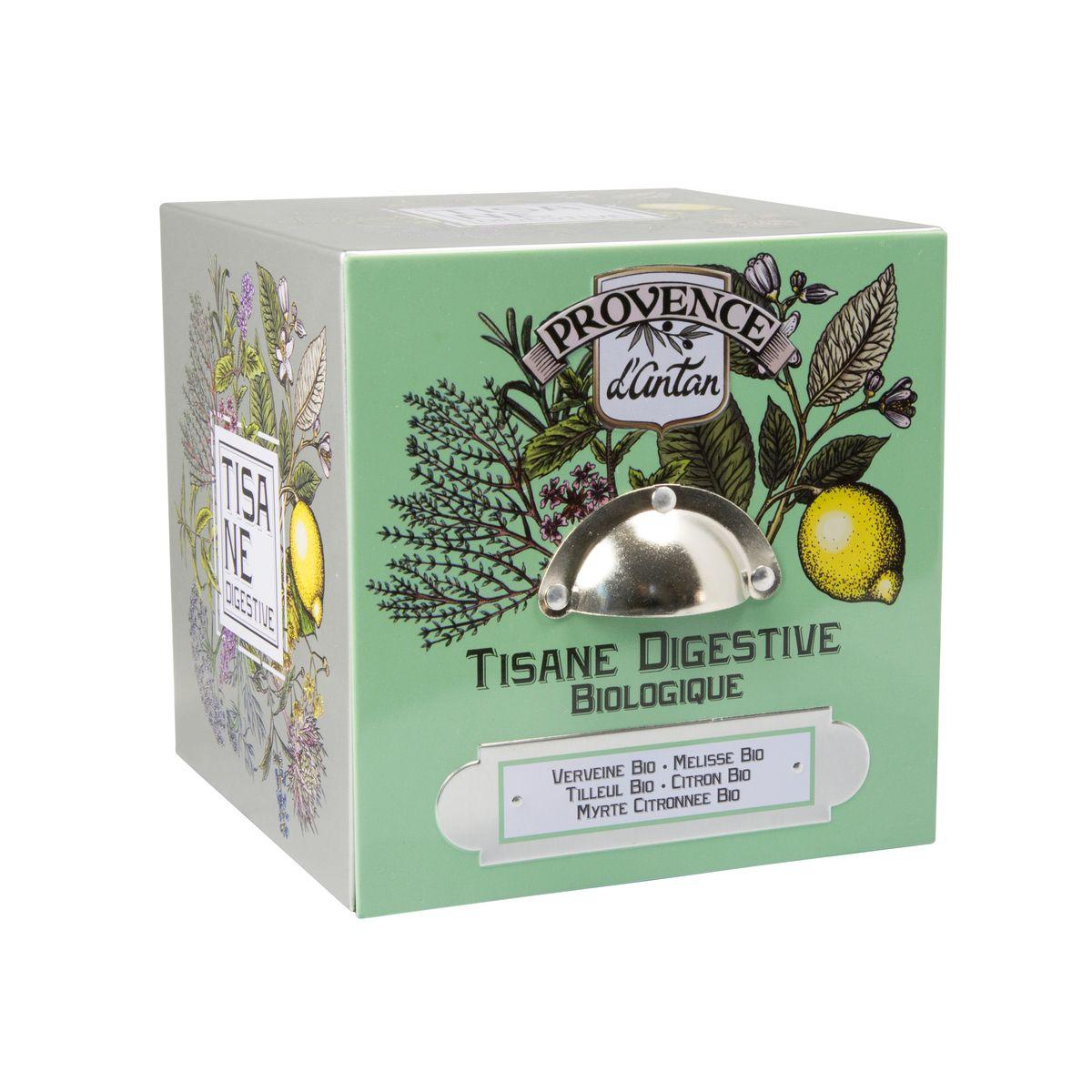 Tisane bio Digestive 36g - Provence d´Antan