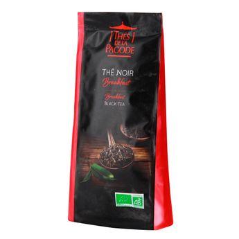 Thé noir bio breakfast 100gr - Thés de la Pagode