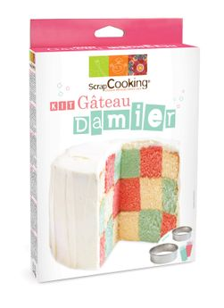 KIT GATEAU DAMIER - SCRAPCOOKING