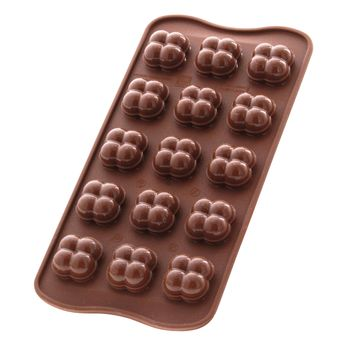 Achat en ligne Moule à chocolats en silicone Chocogame - Silikomart