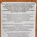 Sciure de bois olivier  100G 100% naturelle - Lacor