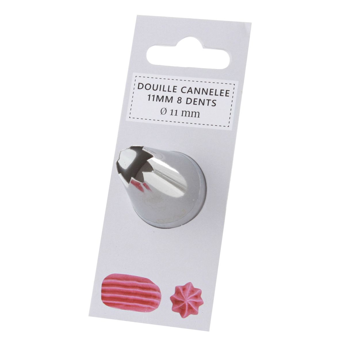 Douille cannelée 8 dents 11mm