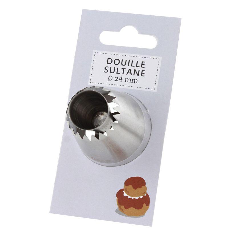 Douille inox sultane 24 mm