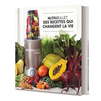 Achat en ligne Livre de recettes Nutribullet - Nutribullet