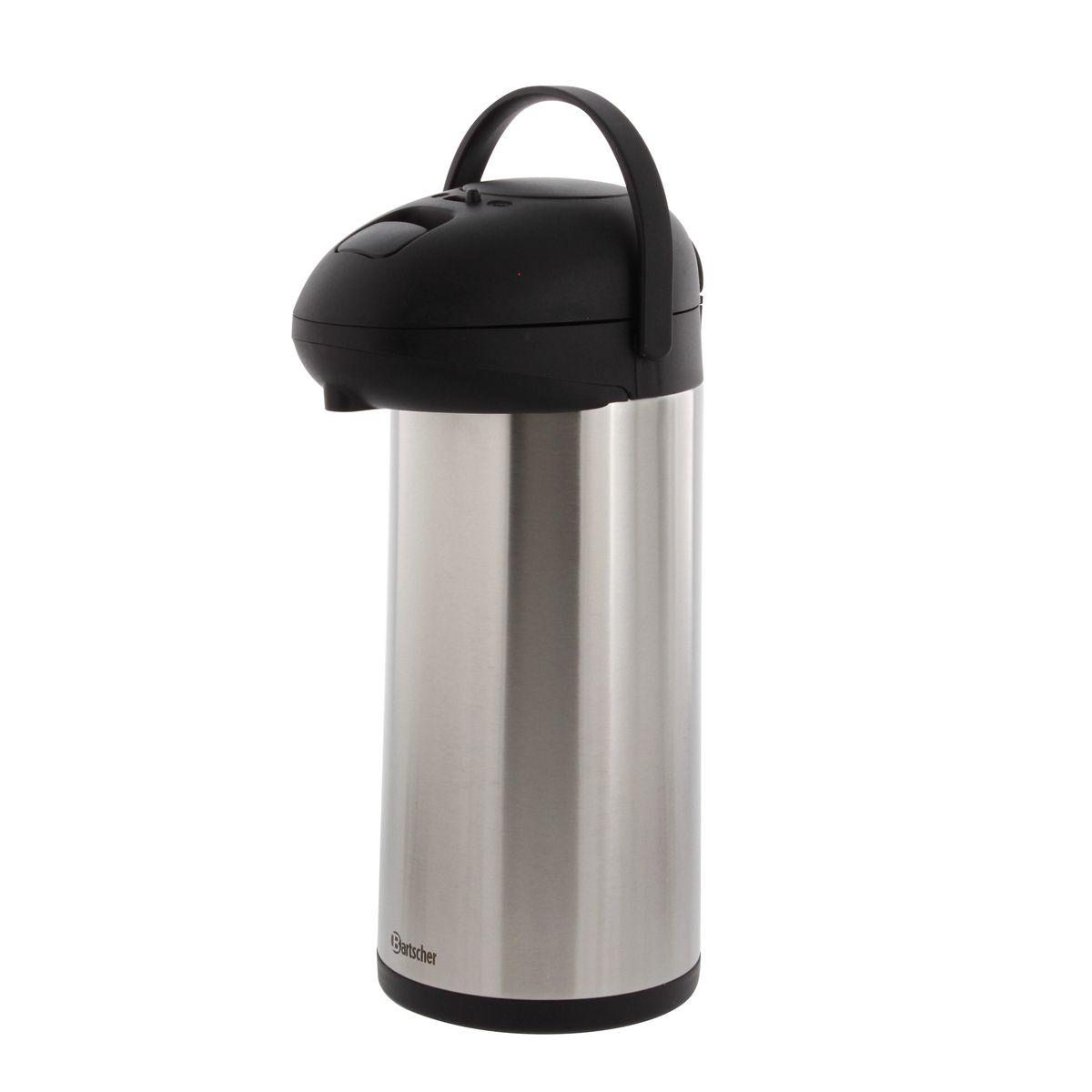 Cafetière thermos 5l à pompe - Bartscher