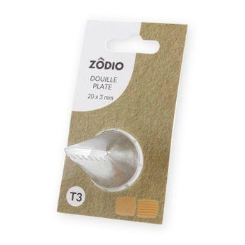 Achat en ligne Douille inox plate 20x3 mm