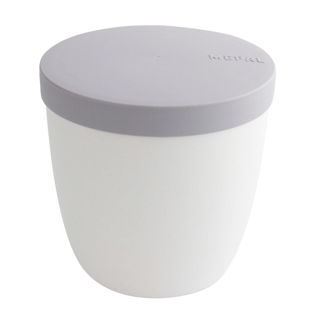 Snack pot ellipse blanc 500ml - Mepal