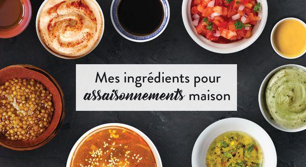 """(Format B) Mes vinaigrettes et sauces """"fait maison"""""""