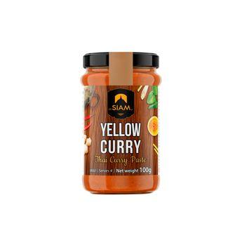 Pâte de curry jaune 100 gr - De Siam