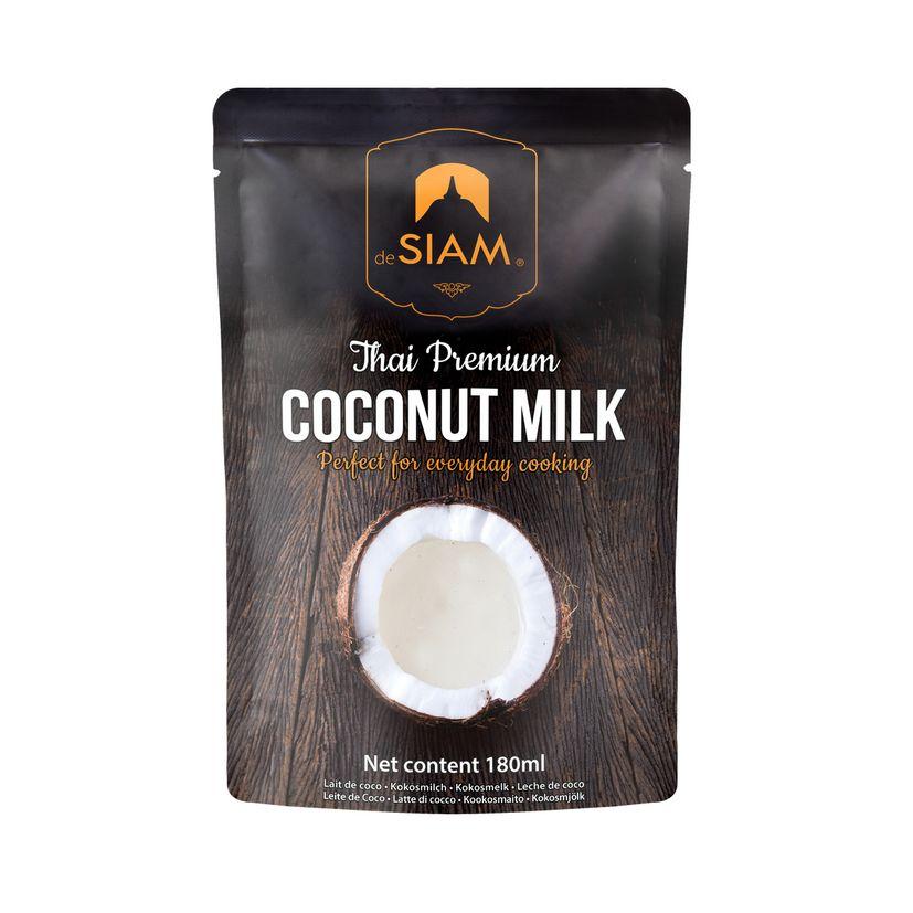 Lait de coco thaï premium 180ml - De Siam