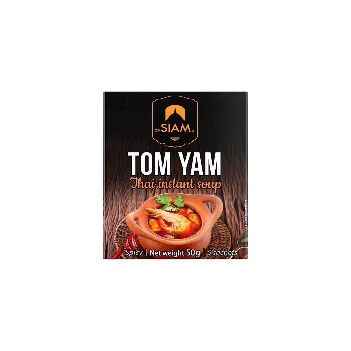 Soupe tom yam 50 gr - De Siam