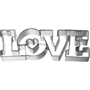 Achat en ligne EMPORTE PIECE LOVE 11 CM - BIRKMANN