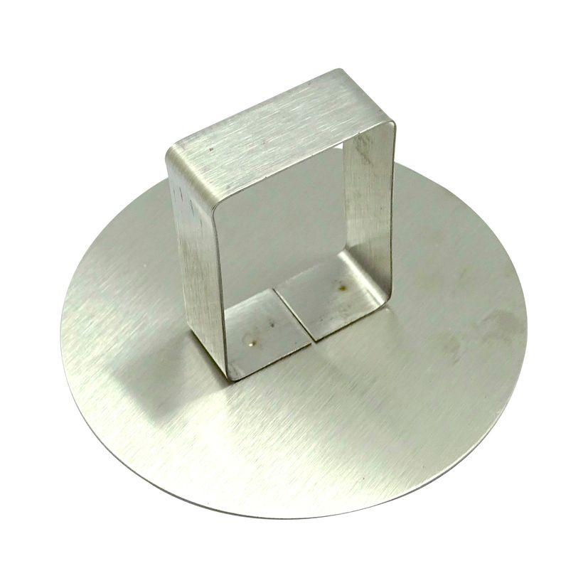 Poussoir inox pour cercle de 9 cm - Alice Délice