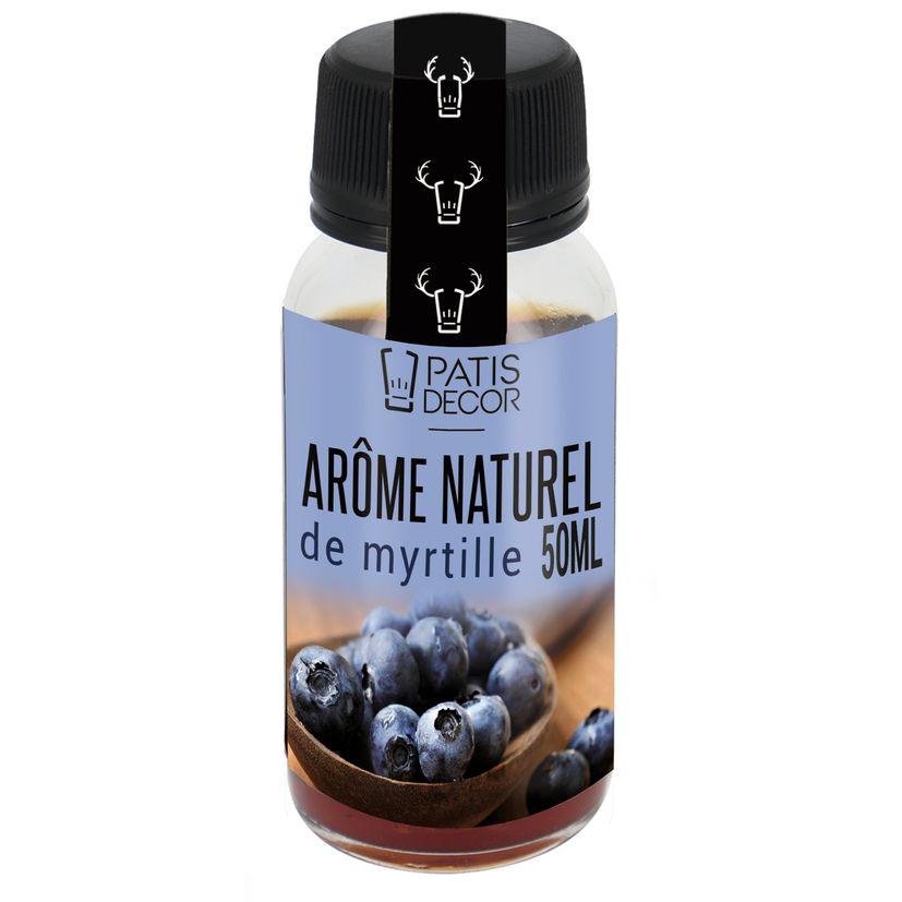 Arôme alimentaire naturel myrtille - Patisdecor