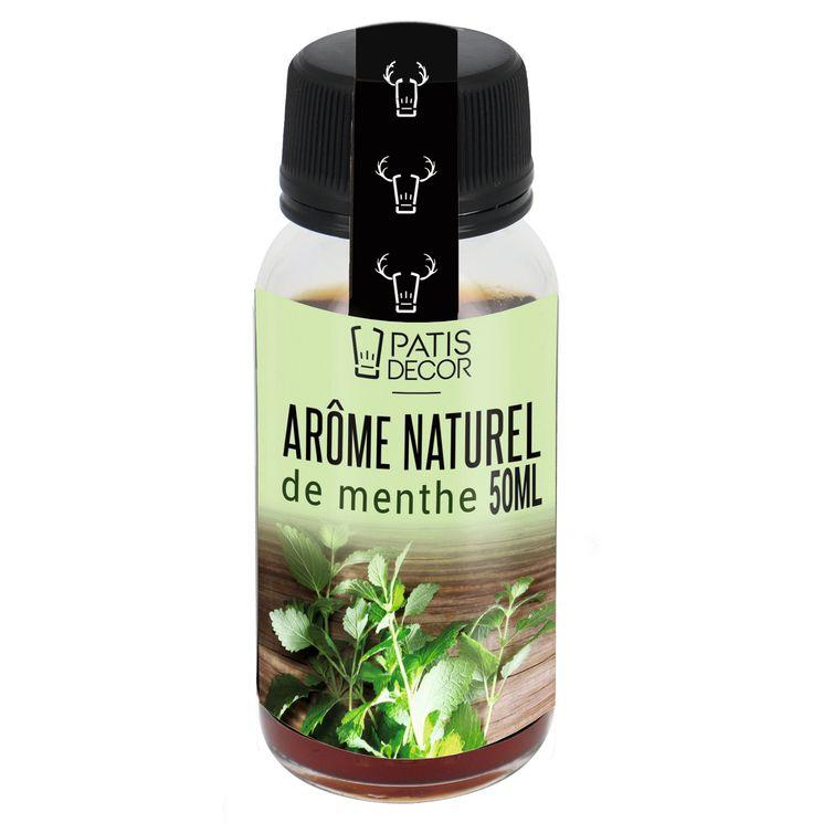 Arôme alimentaire naturel menthe - Patisdecor