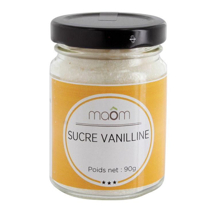 Sucre vanilline 90gr - Le Comptoir Colonial
