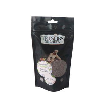 Achat en ligne Pépites de chocolat noir 48% biologique 250gr - Trésors de Chefs
