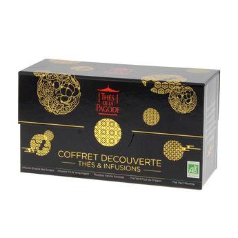 Achat en ligne Coffret Empire céleste  5 thés & infusions bio - Thés de la Pagode