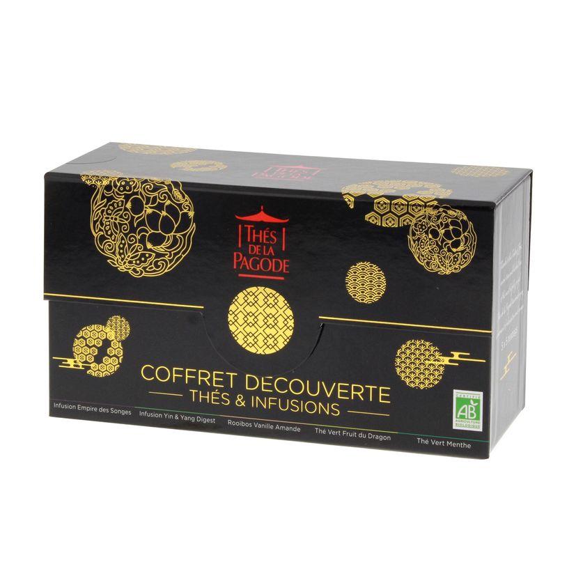 Coffret Empire céleste  5 thés & infusions bio - Thés de la Pagode