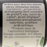 Arôme alimentaire bio cerise 58 ml - Trésors de Chefs