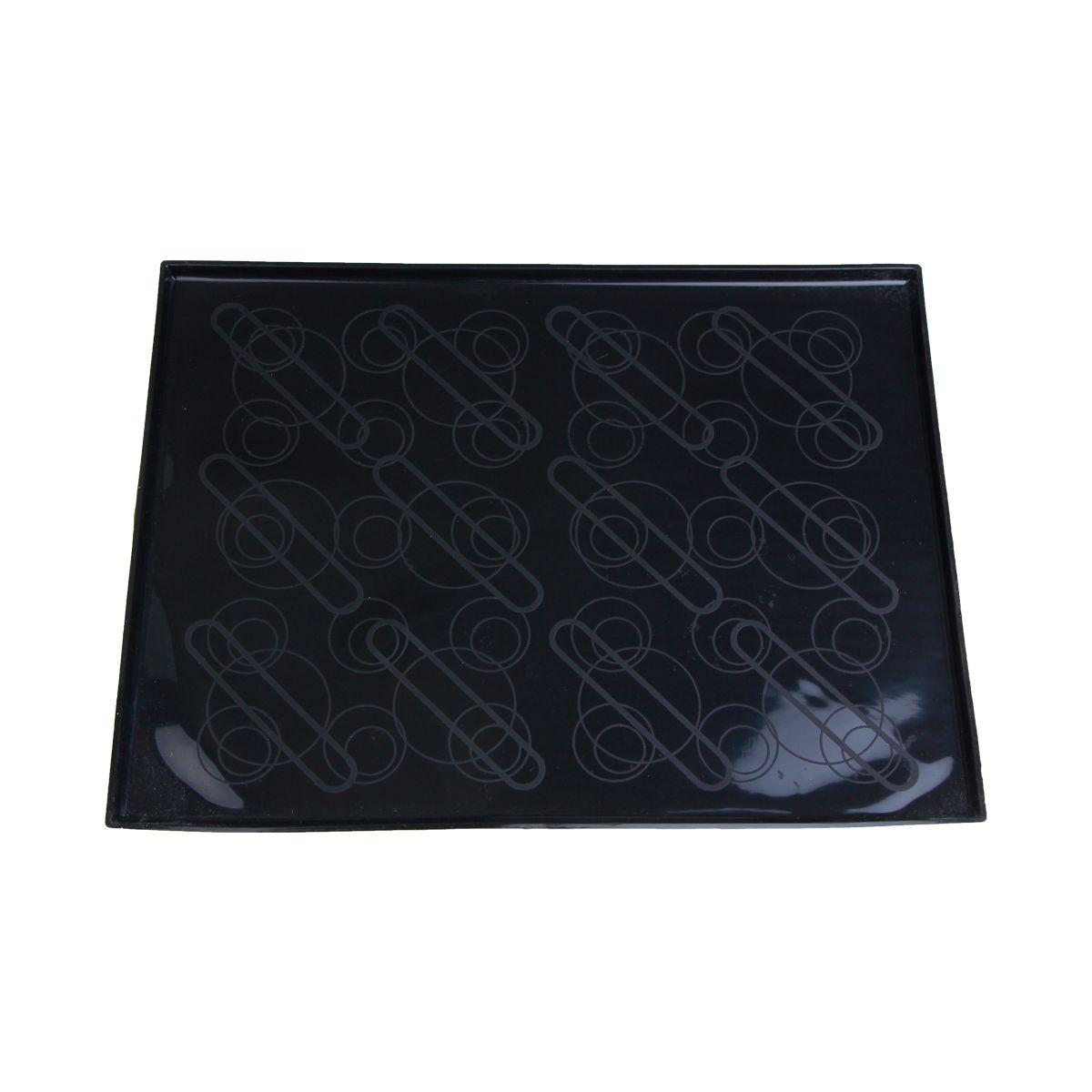 Tapis à génoise à rebord avec empreintes 30 x 40 cm