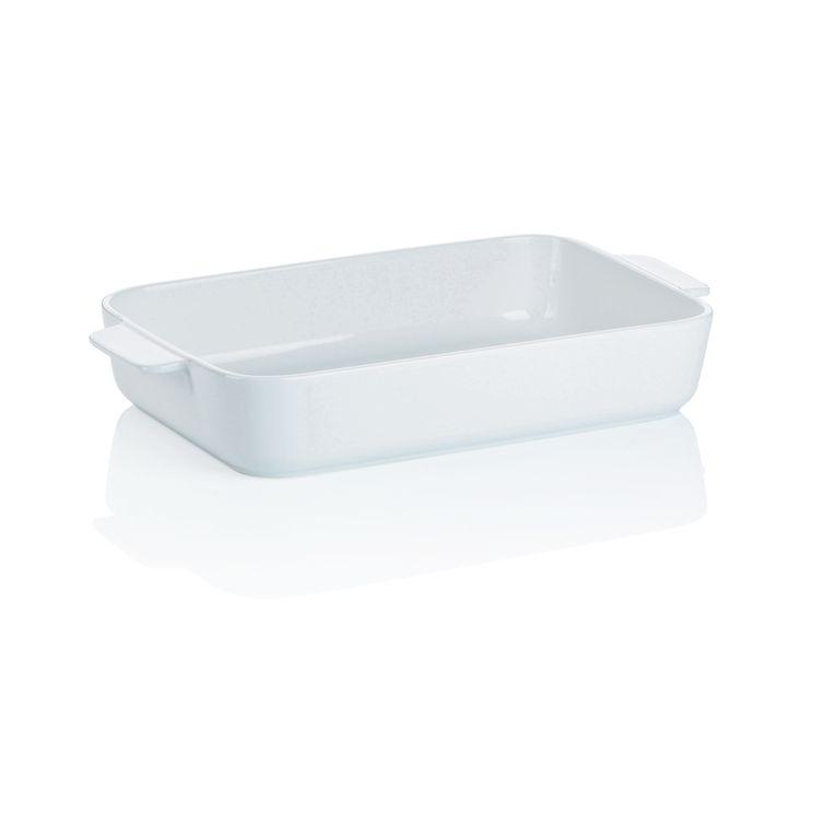 Plat à four porcelaine 34,5 * 20 - Kela