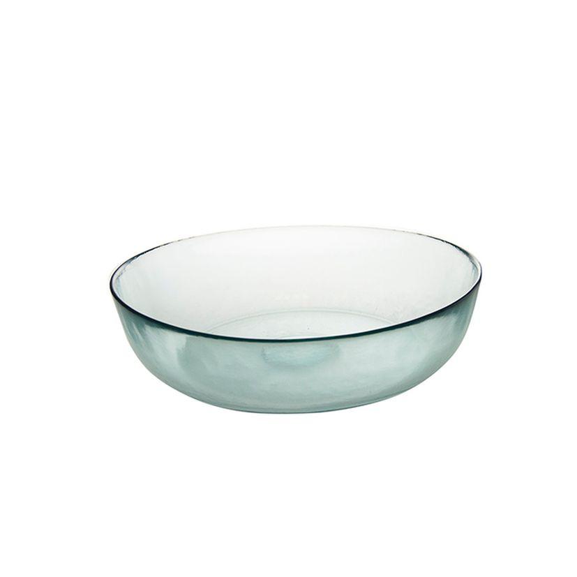 Saladier en verre recyclé 30cm - Vidrios