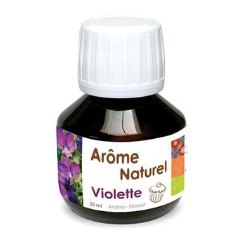 AROME NATUREL DE VIOLETTE 50ML - SCRAPCOOKING