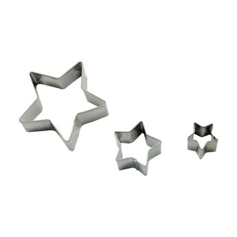 Achat en ligne Découpoir inox étoile x3