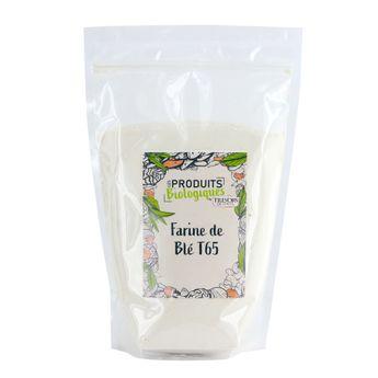 Achat en ligne Farine de blé T65 bio 1.5kg - Trésors de Chefs
