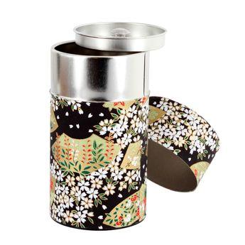 Boîte thé 150g 6.5x12.5 cm Asagao - Bastide Diffusion