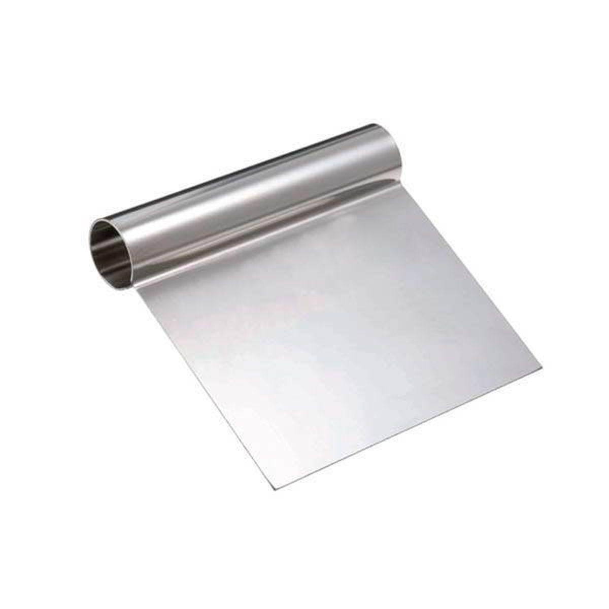 Spatule lisseur en acier 12 x 12.5 cm - Silikomart
