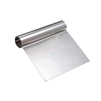 Achat en ligne Spatule en inox 12 x 12 cm, pour lisser, racler ou couper - Alice Délice