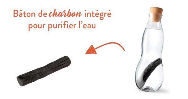 D - Bouteille Charbon