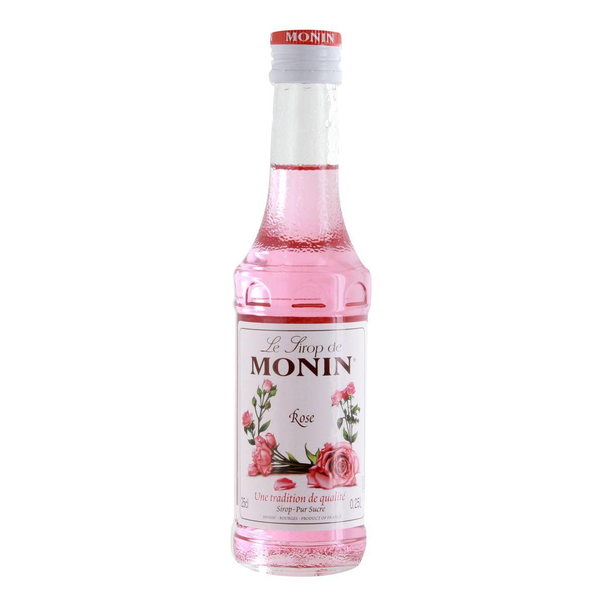 Sirop rose 25 cl - Monin