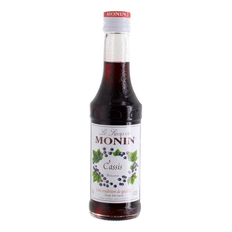 Sirop 25 cl cassis - Monin
