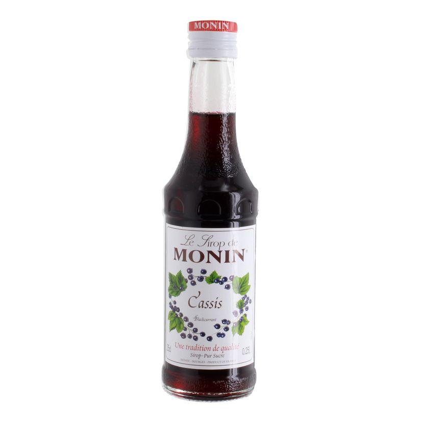 Sirop cassis 25cl - Monin